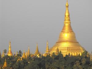 Burma Shwedagon pagoda