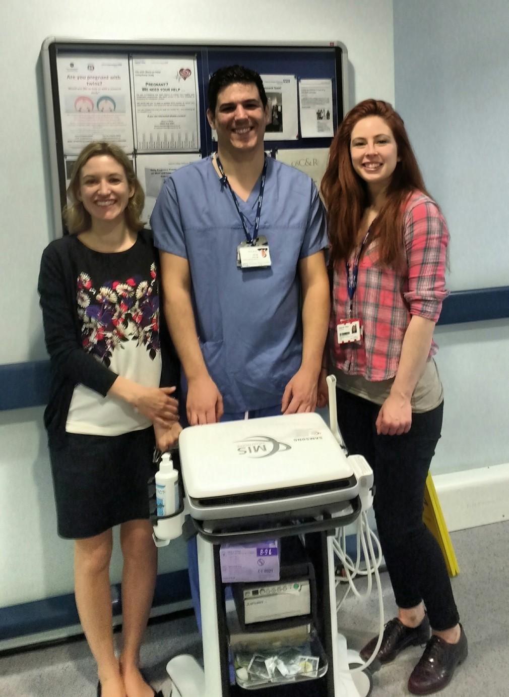 New ultrasound machine for Prematurity research centre