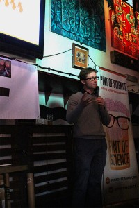 David MacIntyre at Pint of Science