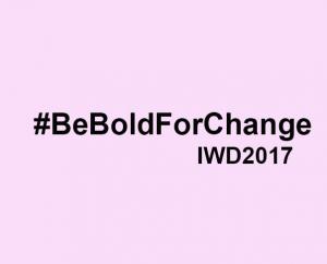 #BeBoldForChange