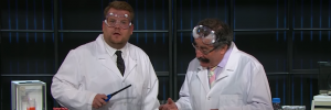 Professor Robert Winston on The Late Late Night Show with James Corden