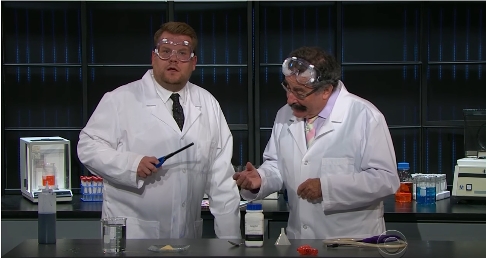 Robert Winston on The Late Late Night Show with James Corden
